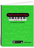 Brand new for 2019 Book 3 takes you to and advanced piano chord player