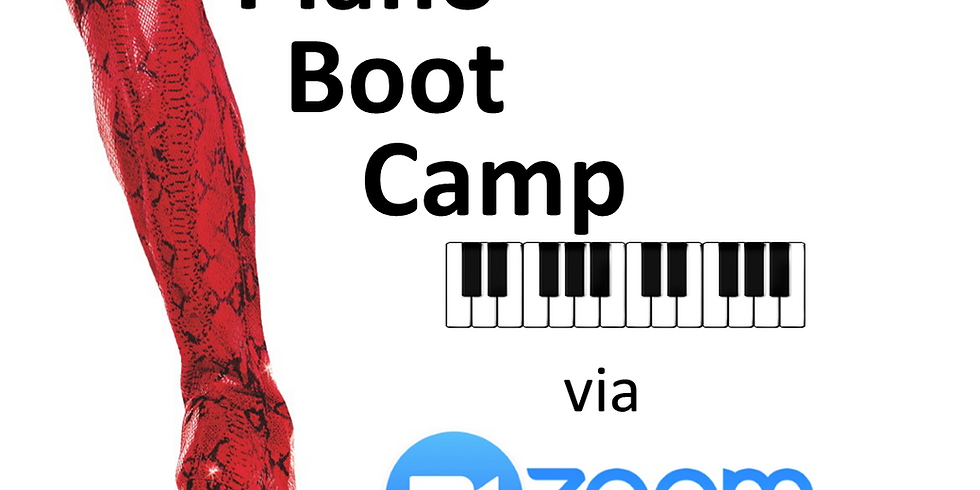 Piano Boot Camp 2020 Level 2 Afternoon