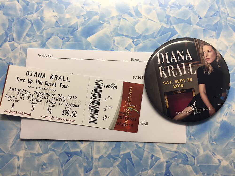 Turn Up The Quiet Tour Diana Krall