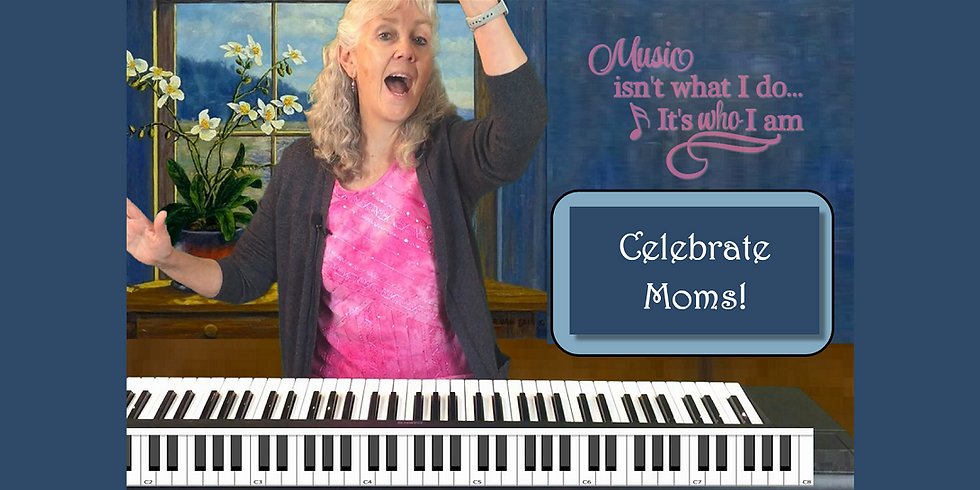 Jam2021 #9 - Celebrate Mother's Day with a Song
