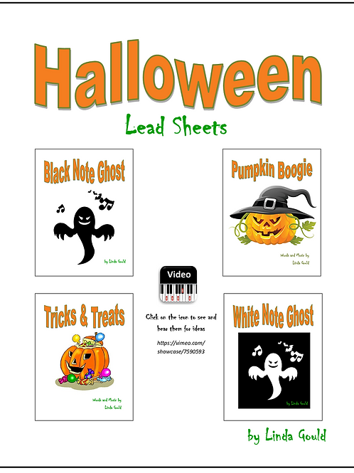 Halloween Lead Sheets