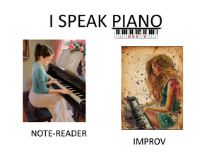 Are you comfortable playing by ear AND reading notes?