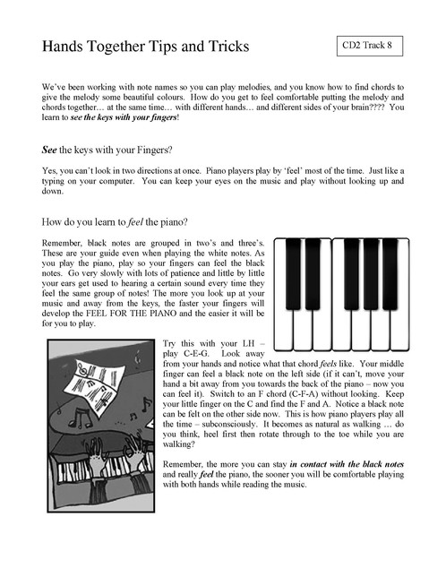 Play Piano Chords Today Book 1 With 2 Cds
