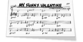 The Strange Lyrics for My Funny Valentine