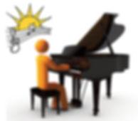 Playing Piano Chords
