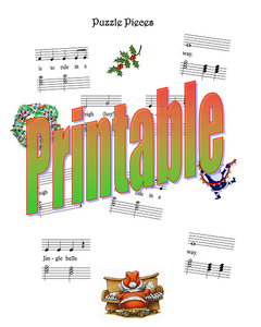 Christmas Musical Puzzle