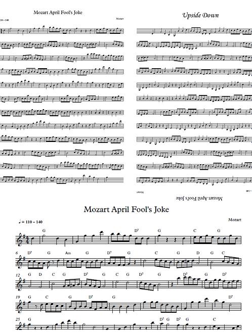 April Fools Musical Joke