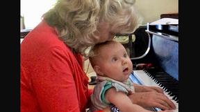Can piano teachers teach their own children?