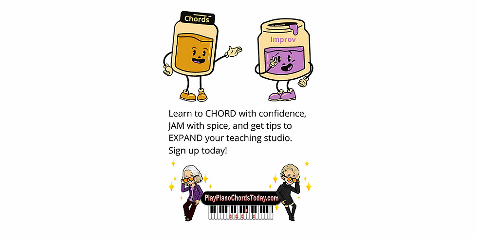 PB and Jam Camp for Piano Teachers