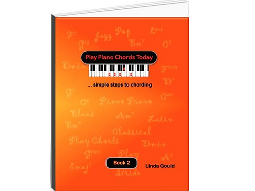 Play Piano Chords Today Book 2 with CD