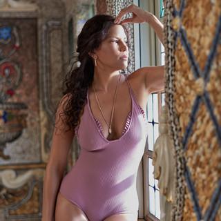 Veronica Webb Versace Mansion