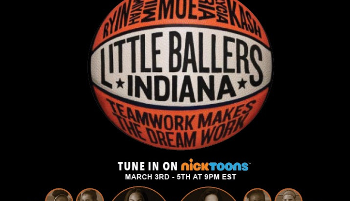Little Ballers Indiana: Crystal McCrary and Skyler Diggins Take Nickelodeon by Storm