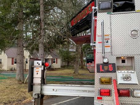 First Due Truck For Howlett Hill Fire
