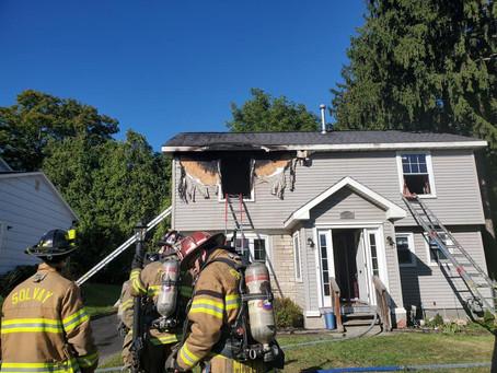Ladder 5 Responds to Fairmount Box Alarm