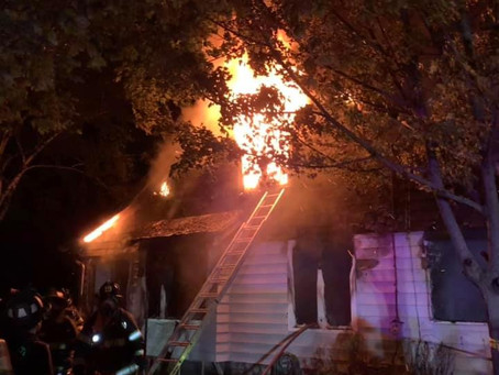 Chief and Engine Company Run Solvay Dwelling Fire