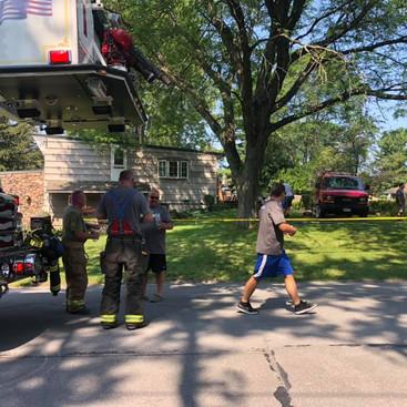 Minor Bedroom Fire In Fairmount