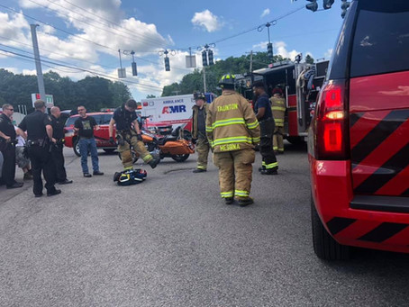 First Due Motorcycle Accident