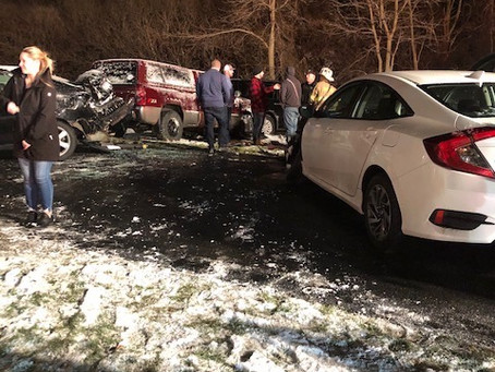 First Due Motor Vehicle Accident In The 5000blk Onondaga Rd