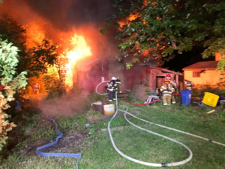Engine Company Runs 2 Early Morning Fires
