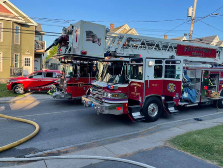 Solvay Residential Fire