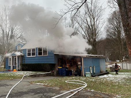 One Rescued From Fairmount House Fire