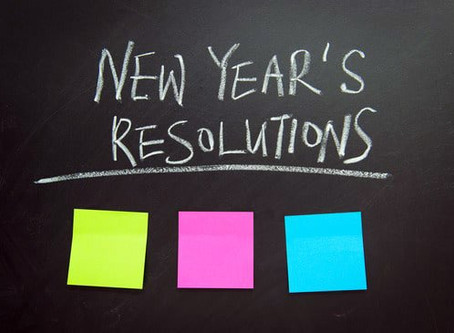 New Year Resolutions—Who Needs Them?