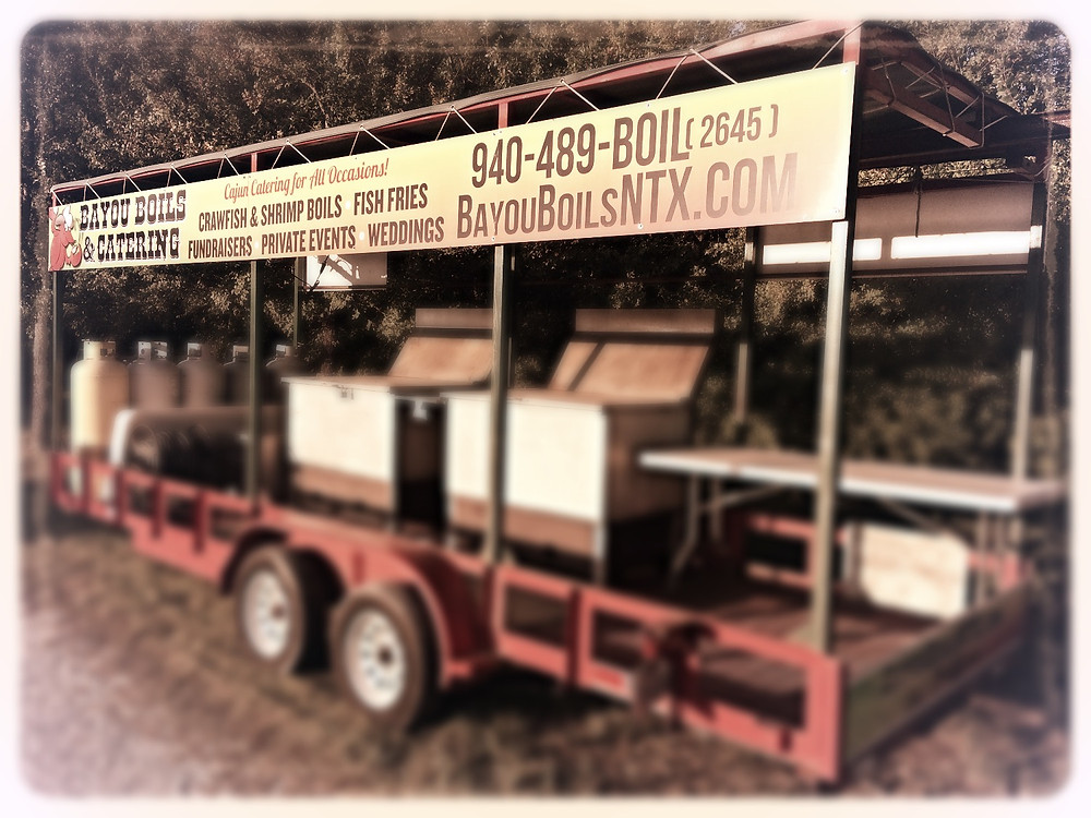 Bayou Boils and Catering Trailer