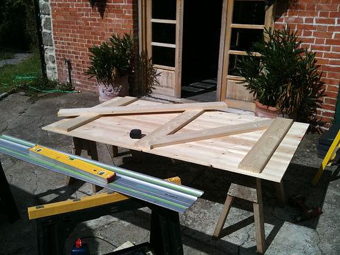 bespoke timber garage door