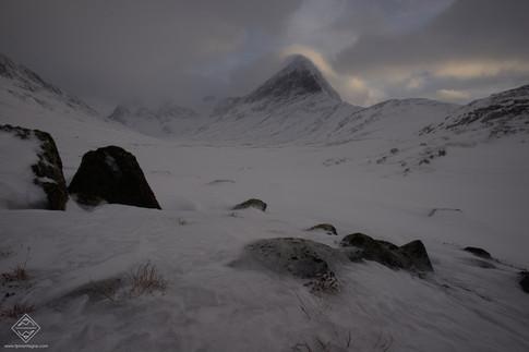 Raid ski pulka en Laponie sur la Kungsleden