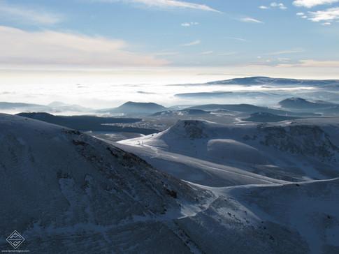 Le Massif Central en hiver