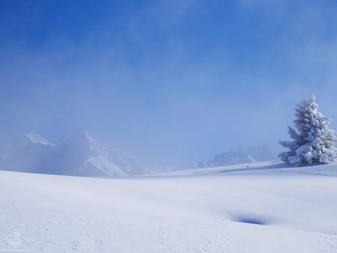 Grand Rocher dans le massif de Belledonne