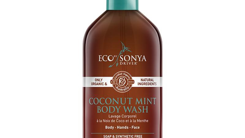 Eco Tan Coconut and Mint Body Wash