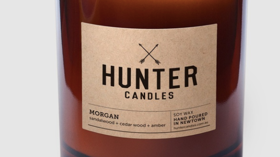 Hunter Candles -Morgan