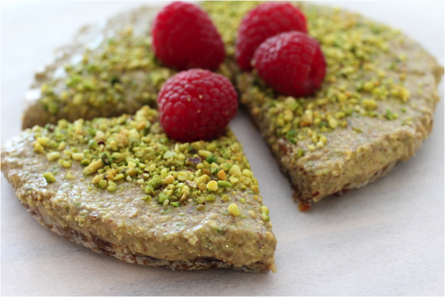 Moringa Nutty Slice