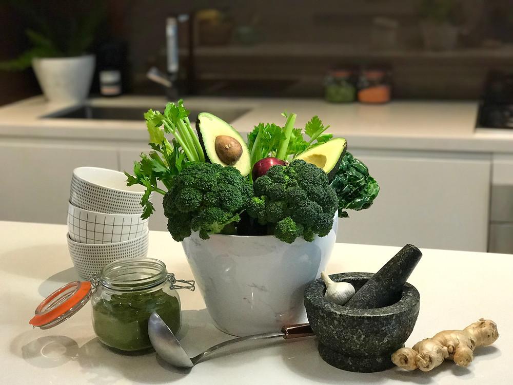 Moringa Broccoli Soup