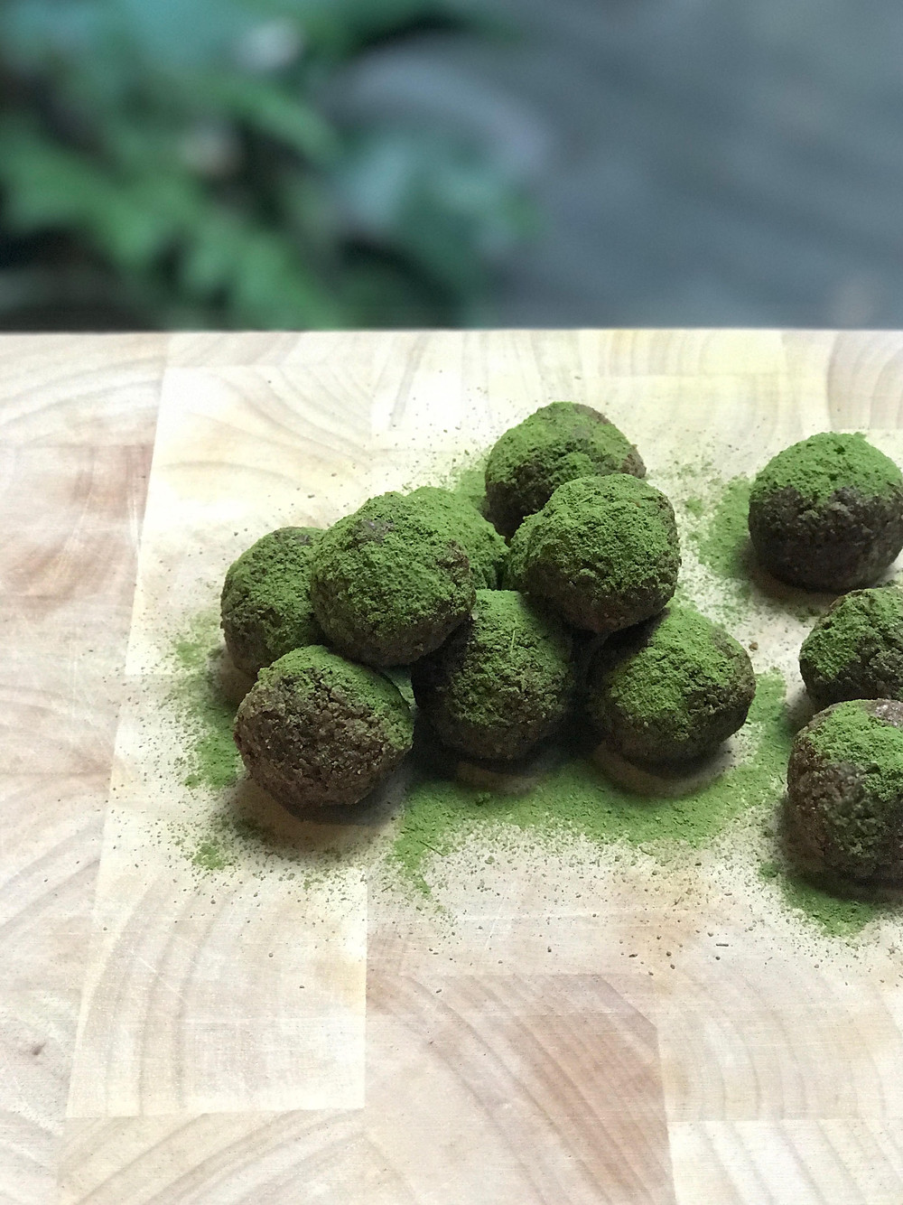 Vegan Moringa Bliss Balls