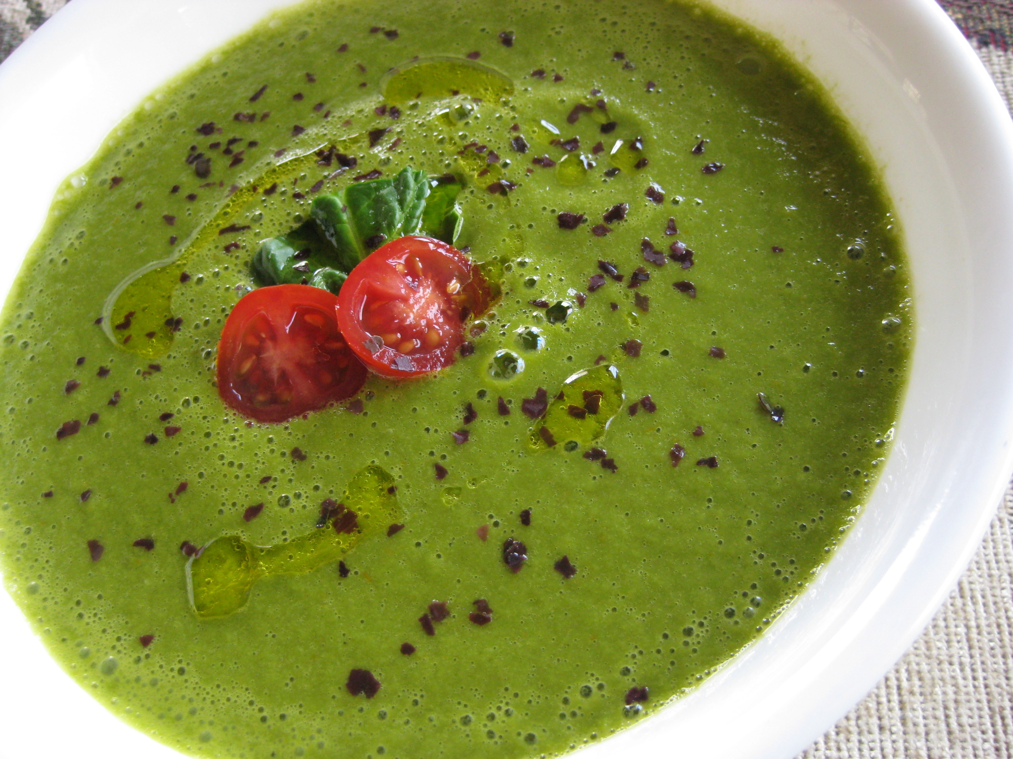 Moringa Raw Soup