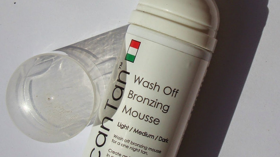 Tuscan Tan Wash Off Bronzing Mousse