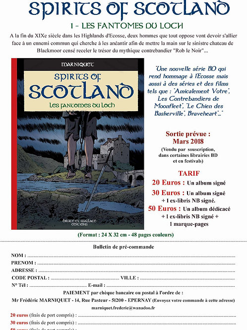 BDC TOME 1 - SPIRITS OF SCOTLAND