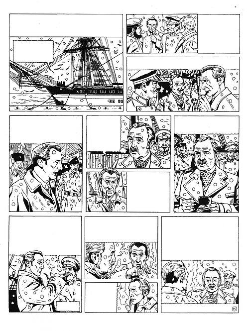LA BRIGADE DE L'ÉTRANGE - TOME 4 - PAGE 15 - PLANCHE ORIGINALE