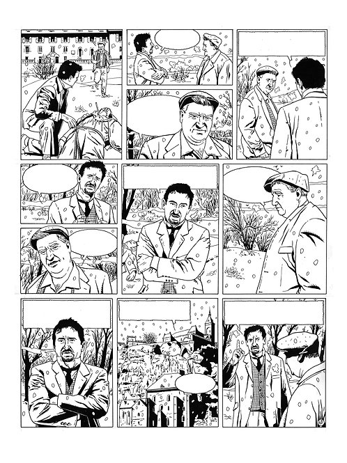 LA BRIGADE DE L'ÉTRANGE - TOME 3 - PAGE 43 - PLANCHE ORIGINALE