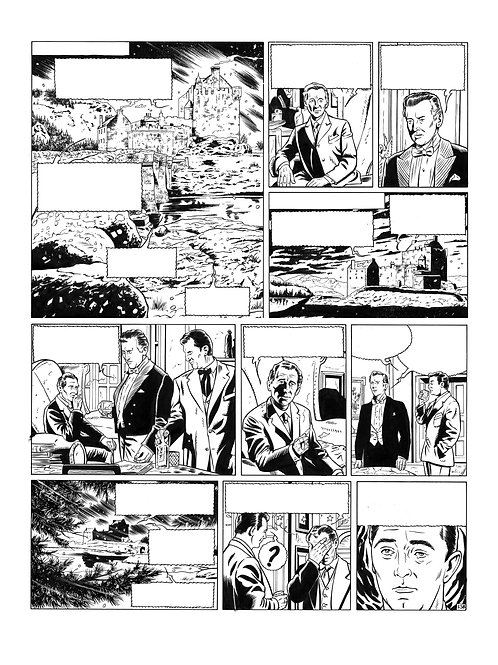 SPIRITS OF SCOTLAND - TOME 2 - PLANCHE ORIGINALE 13