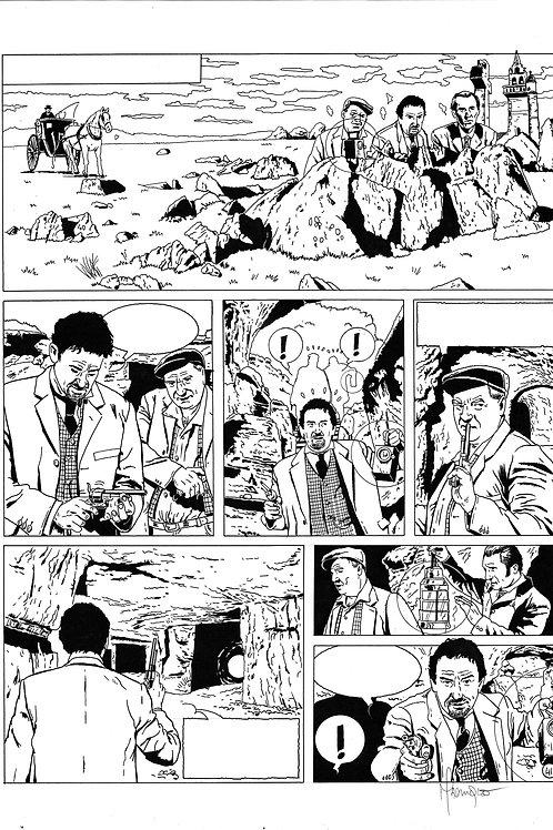 LA BRIGADE DE L'ÉTRANGE - TOME 2 - PAGE 41 - PLANCHE ORIGINALE