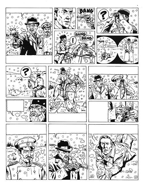 LA BRIGADE DE L'ÉTRANGE - TOME 4 - PAGE 21 - PLANCHE ORIGINALE