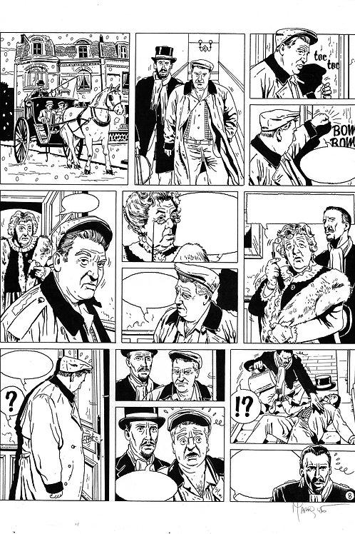 LA BRIGADE DE L'ÉTRANGE - TOME 3 - PAGE 8 - PLANCHE ORIGINALE