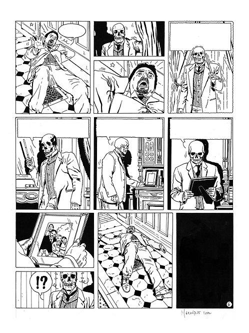 LA BRIGADE DE L'ÉTRANGE - TOME 3 - PAGE 6 - PLANCHE ORIGINALE