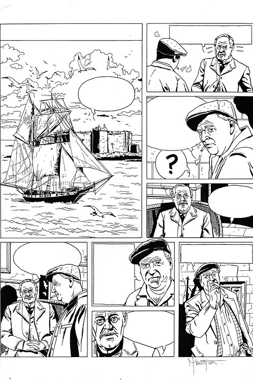LA BRIGADE DE L'ÉTRANGE - TOME 2 - PAGE 30 - PLANCHE ORIGINALE