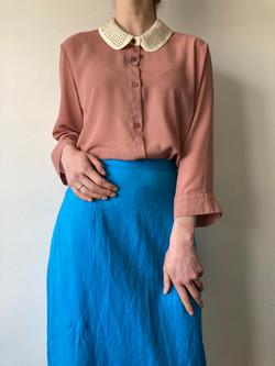 Kasi Collar 3/4 Blouse by VERO MODA Size L