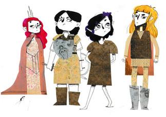 Fantasy Character Exploration
