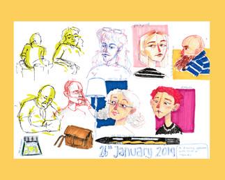 Life Drawing Studies